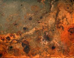 Corrosion par la rouille. Source : http://data.abuledu.org/URI/50c2609e-corrosion-par-la-rouille