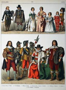 Costumes anglais du dix-septième siècle. Source : http://data.abuledu.org/URI/5309079b-costumes-anglais-du-dix-septieme-siecle