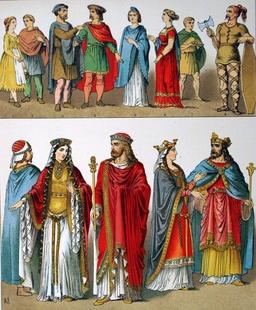 Costumes des francs entre 400 et 600. Source : http://data.abuledu.org/URI/530b1684-costumes-des-francs-entre-400-et-600