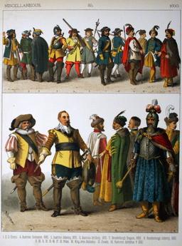 Costumes du dix-septième siècle. Source : http://data.abuledu.org/URI/53092631-costumes-du-dix-septieme-siecle