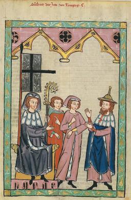 Costumes médiévaux. Source : http://data.abuledu.org/URI/532da6fc-costumes-medievaux