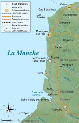 Côte d'Opale sur la Manche. Source : http://data.abuledu.org/URI/55218981-cote-d-opale-sur-la-manche