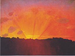 Coucher de soleil. Source : http://data.abuledu.org/URI/535ed6c9-coucher-de-soleil