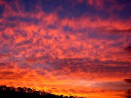 Coucher de soleil. Source : http://data.abuledu.org/URI/546ba8e9-coucher-de-soleil