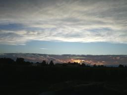 Coucher de soleil en Sauternais - 01. Source : http://data.abuledu.org/URI/5435b637-coucher-de-soleil-en-sauternais-01