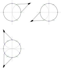 Couper un cercle en douze parties égales. Source : http://data.abuledu.org/URI/52ac7731-couper-un-cercle-en-douze-parties-egales
