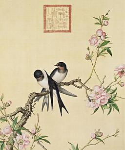 Couple d'hirondelles. Source : http://data.abuledu.org/URI/517a2a06-couple-d-hirondelles
