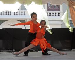 Couple de jeunes danseurs à Porto Rico. Source : http://data.abuledu.org/URI/53367560-couple-de-jeunes-danseurs-a-porto-rico