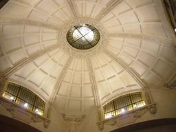 Coupole de la gare de Limoges. Source : http://data.abuledu.org/URI/54a80bec-coupole-de-la-gare-de-limoges