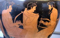 Cours de musique en Grèce. Source : http://data.abuledu.org/URI/59dd6580-cours-de-musique-en-grece