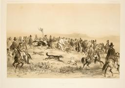 Course de chevaux à Valparaiso en 1838. Source : http://data.abuledu.org/URI/59806d19-course-de-chevaux-a-valparaiso-en-1838