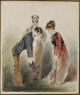 Courtoisie parisienne en 1882. Source : http://data.abuledu.org/URI/5339d9f0-courtoisie-parisienne-en-1882