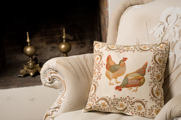 Coussin Chanteclair. Source : http://data.abuledu.org/URI/533463d8-coussin-chanteclair