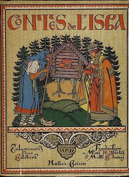 Couverture des Contes de l'isba. Source : http://data.abuledu.org/URI/52bc1158-couverture-des-contes-de-l-isba