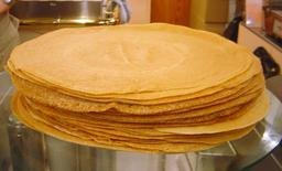 Crêpes empilées. Source : http://data.abuledu.org/URI/53172606-crepes-empilees