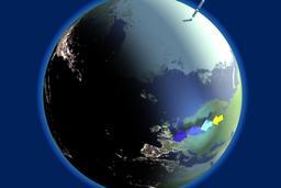 Crépuscule sur la Terre. Source : http://data.abuledu.org/URI/53c83542-crepuscule-sur-la-terre