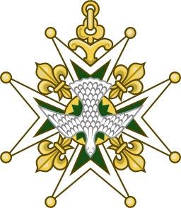 Croix de l'ordre du Saint-Esprit. Source : http://data.abuledu.org/URI/53087140-croix-de-l-ordre-du-saint-esprit