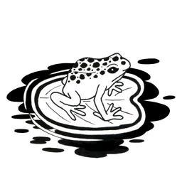 Croquis de grenouille. Source : http://data.abuledu.org/URI/53fddb77-croquis-de-grenouille