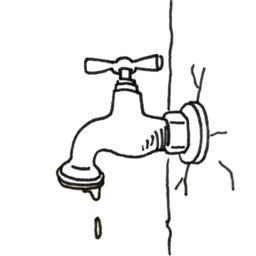 Croquis de robinet. Source : http://data.abuledu.org/URI/53fe4015-croquis-de-robinet