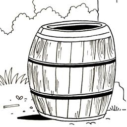 Croquis de tonneau. Source : http://data.abuledu.org/URI/5400655f-croquis-de-tonneau