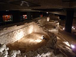 Crypte archéologique de Dax. Source : http://data.abuledu.org/URI/558b2fb7-crypte-archeologique-de-dax