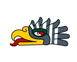 Cuauthli, l'aigle du calendrier aztèque. Source : http://data.abuledu.org/URI/540b5da3-cuauthli-l-aigle-du-calendrier-azteque
