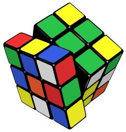 Cube de Rubik. Source : http://data.abuledu.org/URI/51fa38e4-cube-de-rubik