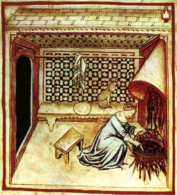 Cuisine médiévale. Source : http://data.abuledu.org/URI/50c87677-cuisine-medievale