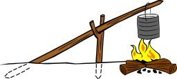 Cuisson en plein air avec un système à balancier - 03. Source : http://data.abuledu.org/URI/5454e1ce-cuisson-en-plein-air-avec-un-systeme-a-balancier-03
