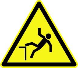 Danger de chute. Source : http://data.abuledu.org/URI/51be3c6a-danger-de-chute