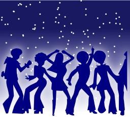 Danseurs de disco. Source : http://data.abuledu.org/URI/504b87b3-danseurs-de-disco
