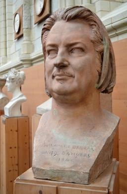 David d'Angers, buste de Balzac. Source : http://data.abuledu.org/URI/562fed22-david-d-angers-buste-de-balzac