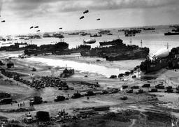 Débarquement de Normandie en juin 1944. Source : http://data.abuledu.org/URI/5112d31d-debarquement-de-normandie-en-juin-1944