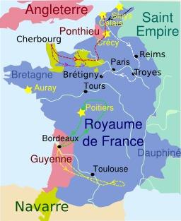 Début de la guerre de cent ans. Source : http://data.abuledu.org/URI/50708b62-debut-de-la-guerre-de-cent-ans