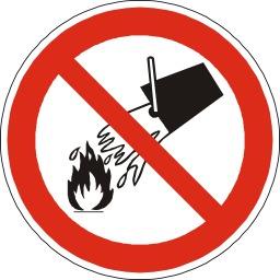 Défense d'éteindre avec de l'eau. Source : http://data.abuledu.org/URI/51bf5a4f-defense-d-eteindre-avec-de-l-eau