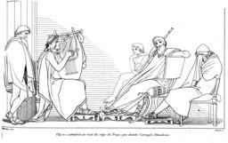 Demodocus de l'Odyssée. Source : http://data.abuledu.org/URI/502152f1-demodocus-de-l-odyssee