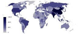 Démographie mondiale. Source : http://data.abuledu.org/URI/56c60aa8-demographie-mondiale