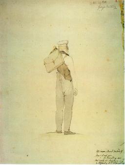 Départ de peintre en randonnée. Source : http://data.abuledu.org/URI/50e17e0a-depart-de-peintre-en-randonnee