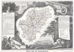 Département de la Charente en 1847. Source : http://data.abuledu.org/URI/531c9cd8-departement-de-la-charente-en-1847