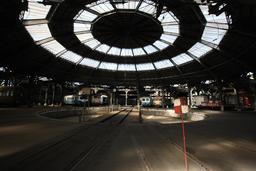 Dépôt ferroviaire de Mohon la rotonde. Source : http://data.abuledu.org/URI/56be7d7c-depot-ferroviaire-de-mohon-la-rotonde