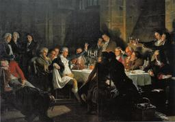 Dernier banquet des Girondins. Source : http://data.abuledu.org/URI/50acad47-dernier-banquet-des-girondins