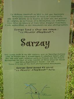 Descriptif du château de Sarzay. Source : http://data.abuledu.org/URI/50f1963c-descriptif-du-chateau-de-sarzay
