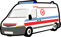 Dessin d'ambulance. Source : http://data.abuledu.org/URI/530cee76-dessin-d-ambulance