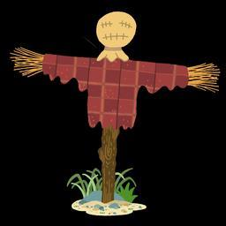 Dessin d'épouvantail en couleurs - 2. Source : http://data.abuledu.org/URI/566b14dd-dessin-d-epouvantail-en-couleurs-2