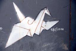 Dessin d'oiseau en origami. Source : http://data.abuledu.org/URI/52f26ee8-dessin-d-oiseau-en-origami