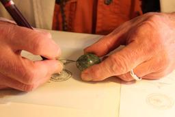 Dessin d'un bijou de l'âge du bronze. Source : http://data.abuledu.org/URI/51fa5c30-dessin-d-un-bijou-de-l-age-du-bronze