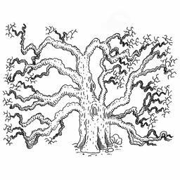 Dessin de chêne. Source : http://data.abuledu.org/URI/566acccc-dessin-de-chene