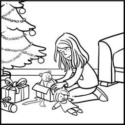 Dessin de Chloé à Noël. Source : http://data.abuledu.org/URI/565accbd-dessin-de-chloe-a-noel