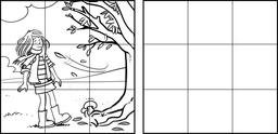 Dessin de Chloé en automne. Source : http://data.abuledu.org/URI/566b81f3-dessin-de-chloe-en-automne