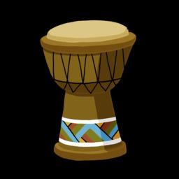 Dessin de djembé. Source : http://data.abuledu.org/URI/54f778e7-dessin-de-djembe